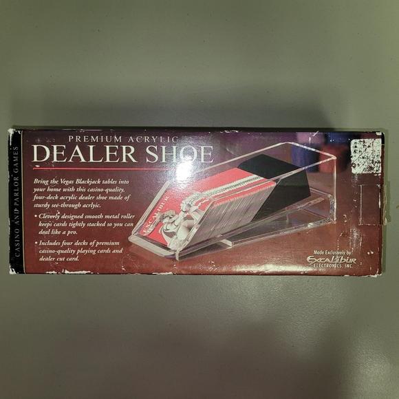 Excalibur Card Dealer Shoe